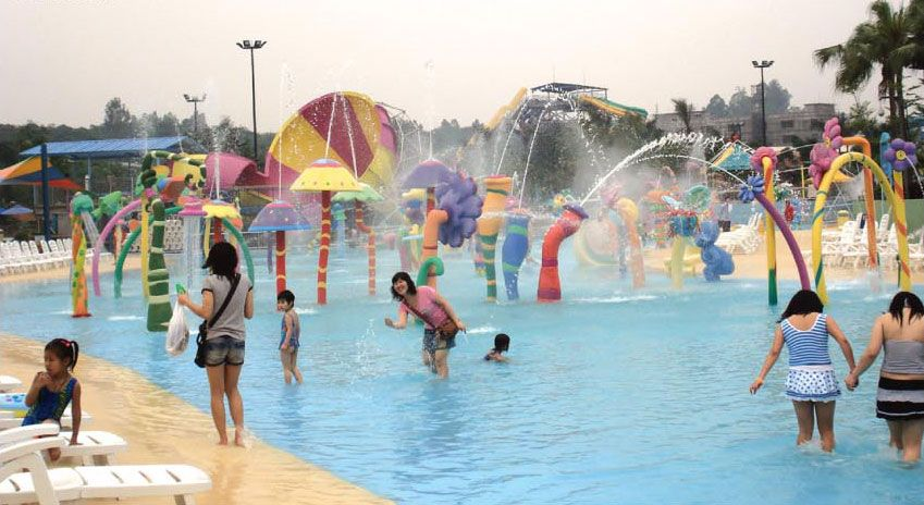 Greenpro india has come up with a series of water park