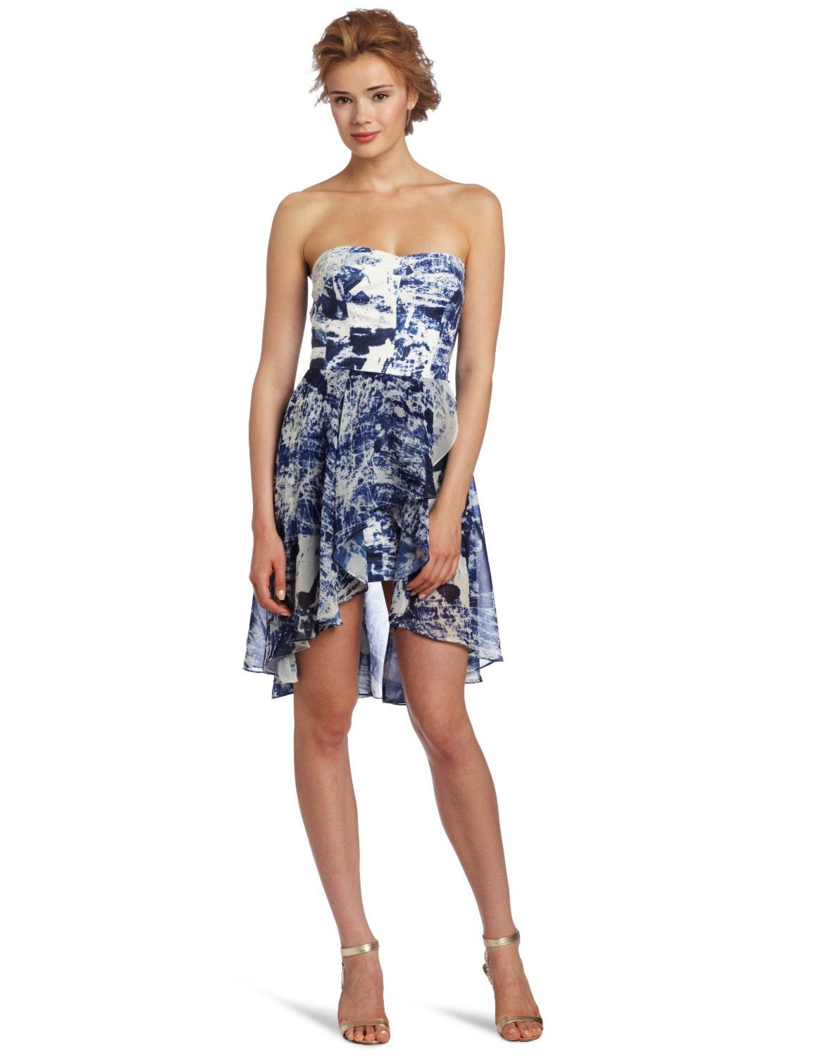 French Connection Women's Woodblock Wonder Dress
