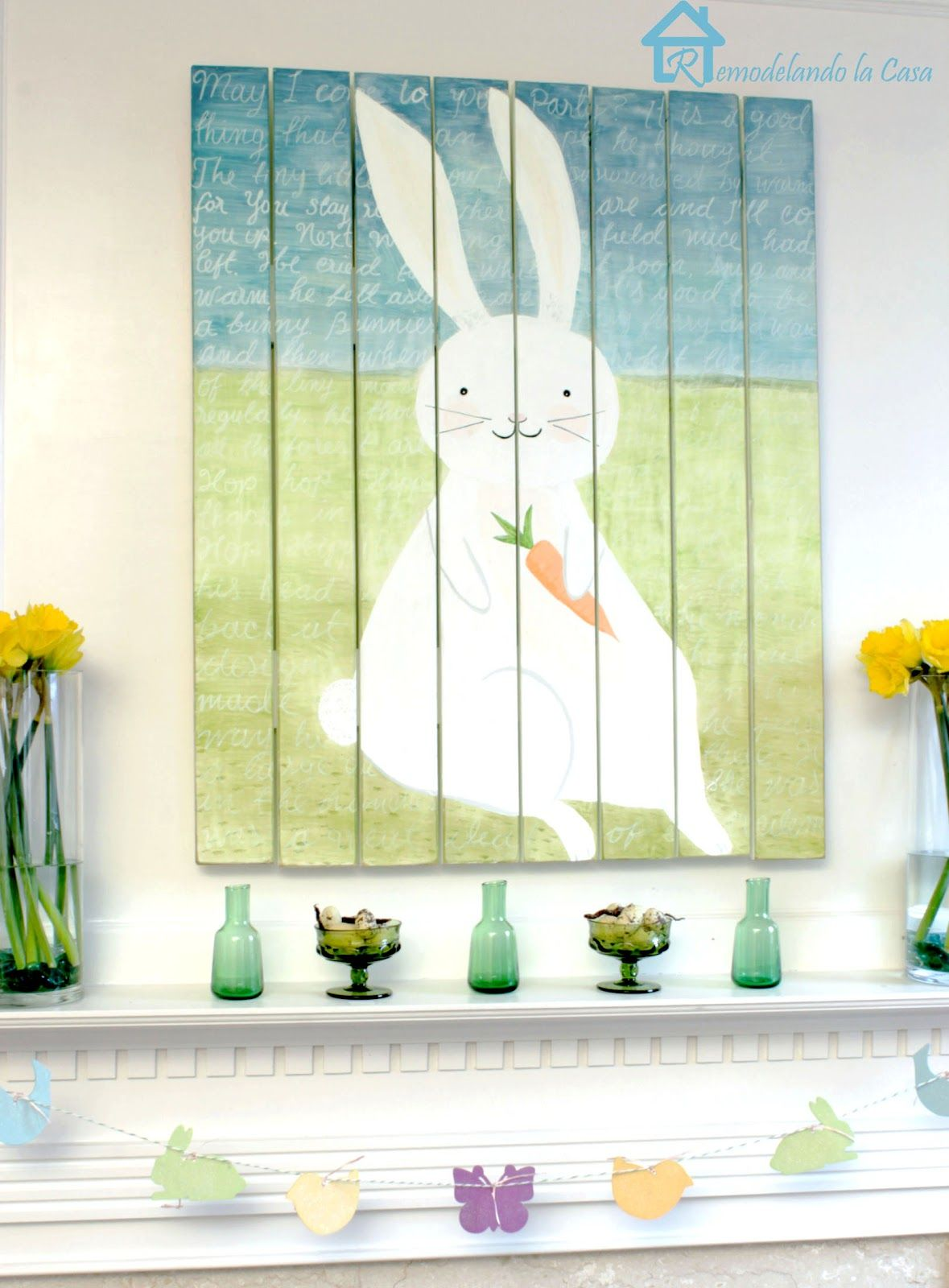 Easter - Spring Mantel | Mantels and Easter