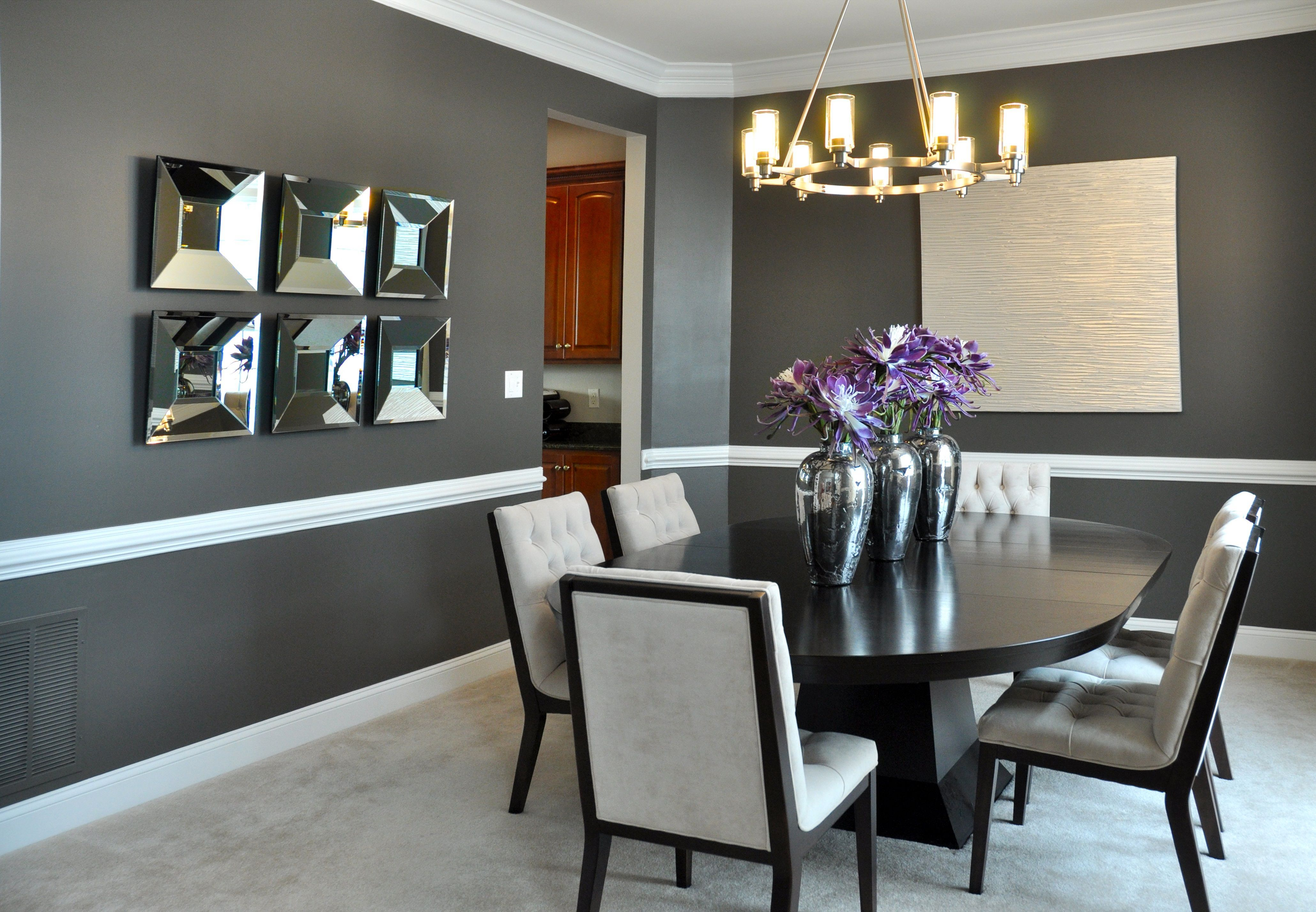 Make Your Dinner More Tasteful With 25 Top And Adorable Dining Room Decorations Decor It S Modern Dining Room Set Dining Room Colors Unique Dining Room