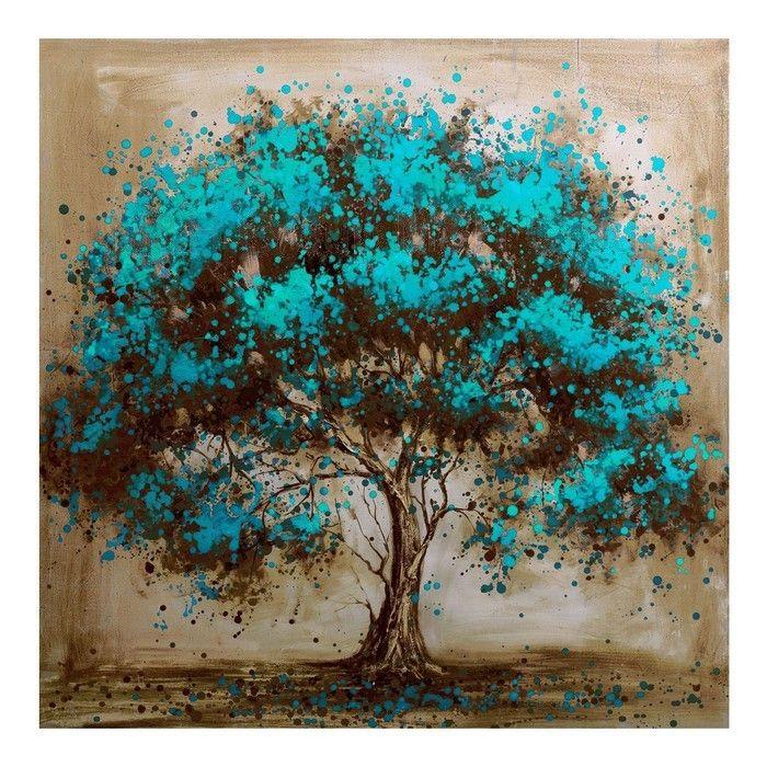 Pintado A Mano Moderno Pintura Decorativa Flor De Pintura