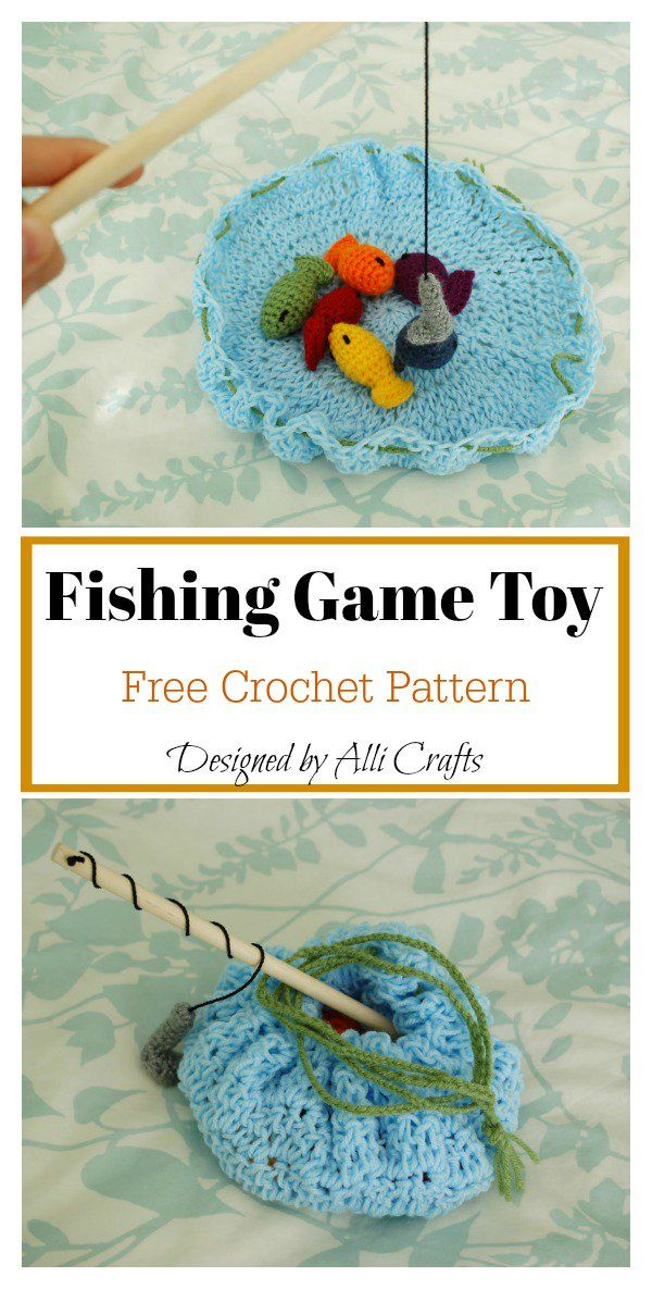 Little Fish Amigurumi Free Crochet Pattern | Kaufladen | Pinterest ...