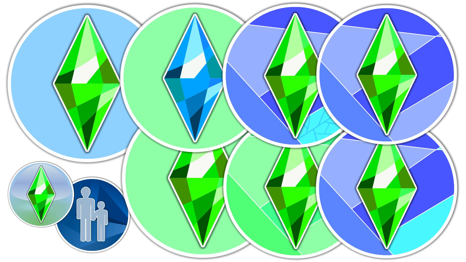 Sims 4 Desktop Icons New Branding Desktop Icons Sims 4 Icon