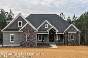 Photo of Plan 51746HZ: Craftsman House Plan with Rustic Exterior and Bonus Above the Garage