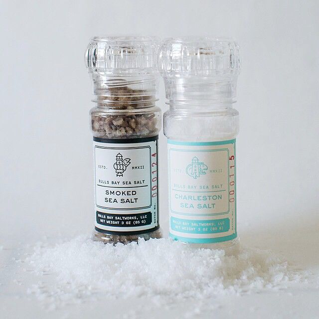 Indulge in sea salt harvested from the pristine waters of Cape Romain National Wildlife Refuge, SC. located just minutes from Charleston.