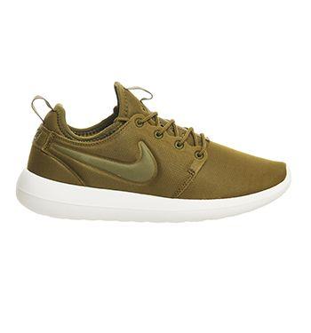 Nike Roshe Two Olive Flak Olive Flak - Hers trainers