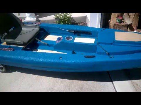 Battleyak sneak peak at my latest kayak build a foam for Youtube kayak fishing