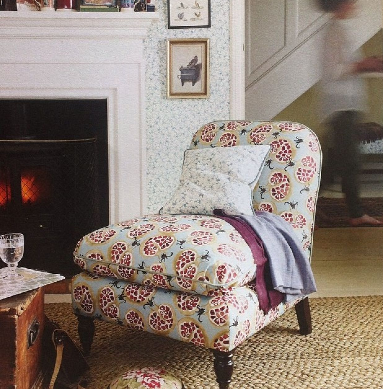 Furniture Stores Santa Maria Emma Bridgewater Fabrics In Collaboration With Sanderson