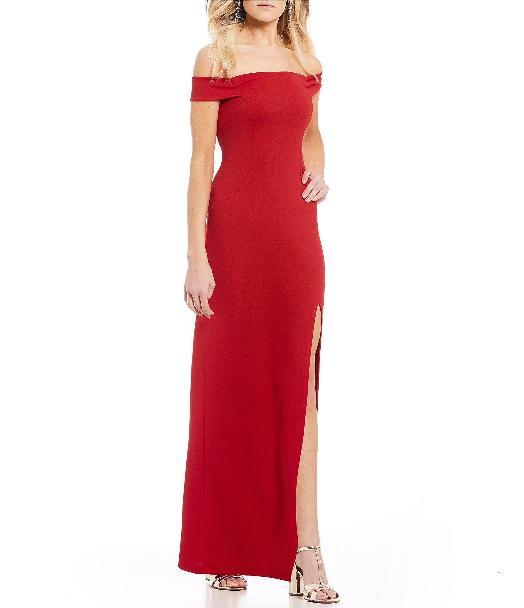 9150ea46cc7 Shop for Teeze Me Off-The-Shoulder Long Dress at Dillards.com. Visit  Dillards.com to find clothing