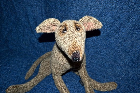 63c08fcd7e689 Fawn Greyhound plush toy by greycare on Etsy, $40.00 | dog greyhound ...