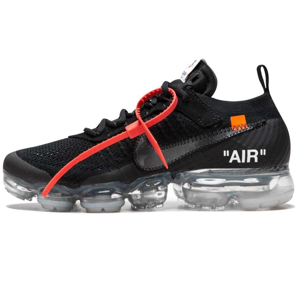 borde romano Año  Off-White x Nike Air VaporMax Flyknit Black in 2020 | Best sneakers, Nike  air vapormax, Nike