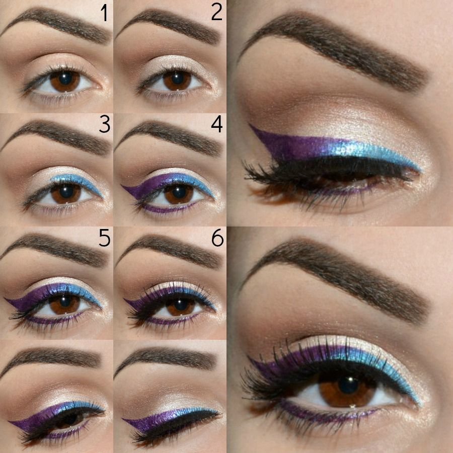 Exceptionnel Pin di Lucia Clede su Make up tutorial | Pinterest | Trucco, Occhi  IT59