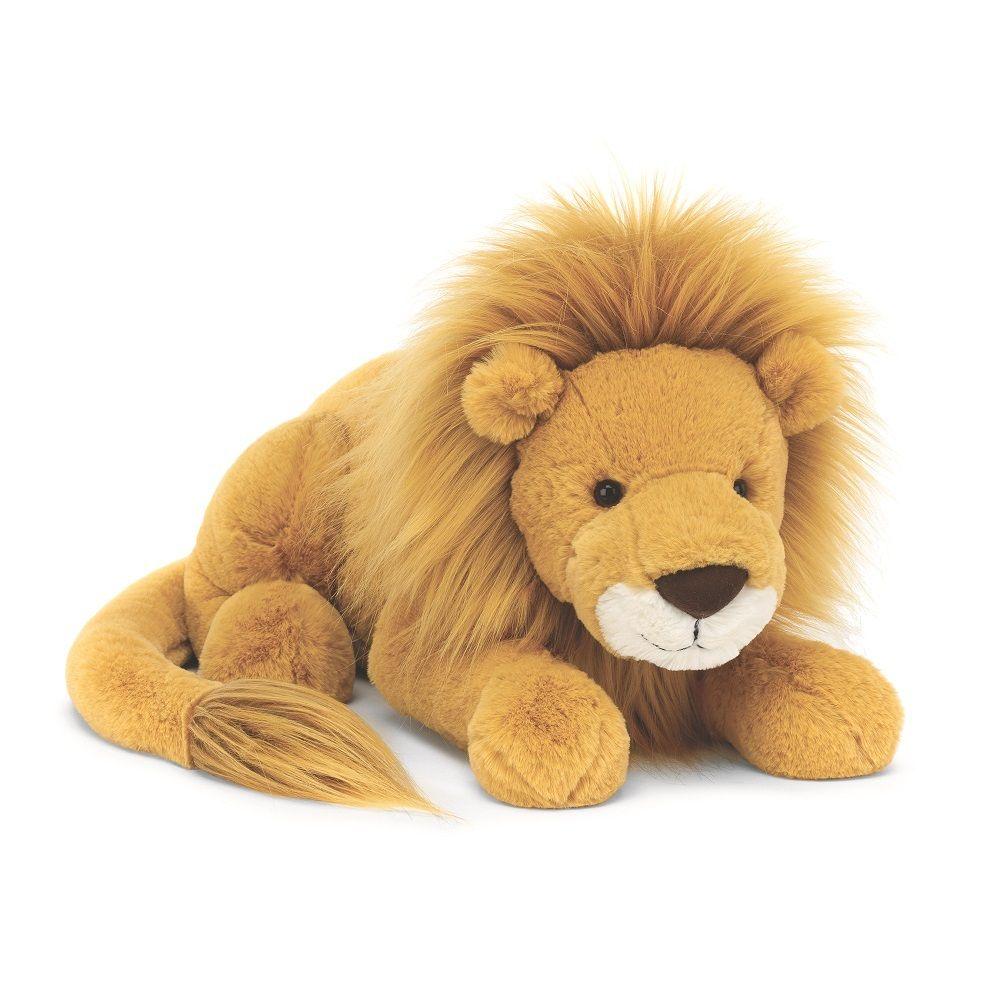 Louie Lion Singa Boneka Ide Hadiah [ 1000 x 1000 Pixel ]