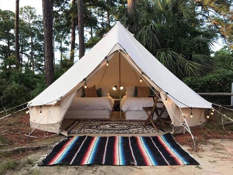 Florida Men | Tent glamping, Outdoor, Glamping