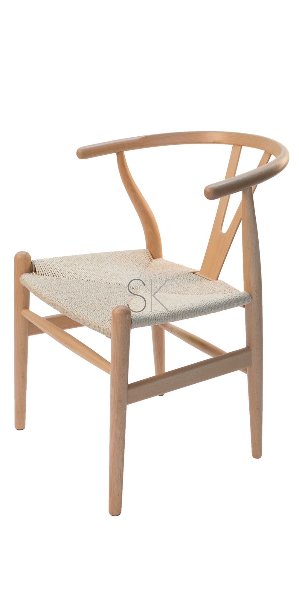 Replica Hans Wegner Wishbone Chair - Natural Frame u0026 Natural Rattan  sc 1 st  Pinterest & Replica Hans Wegner Wishbone Chair - Natural Frame u0026 Natural Rattan ...