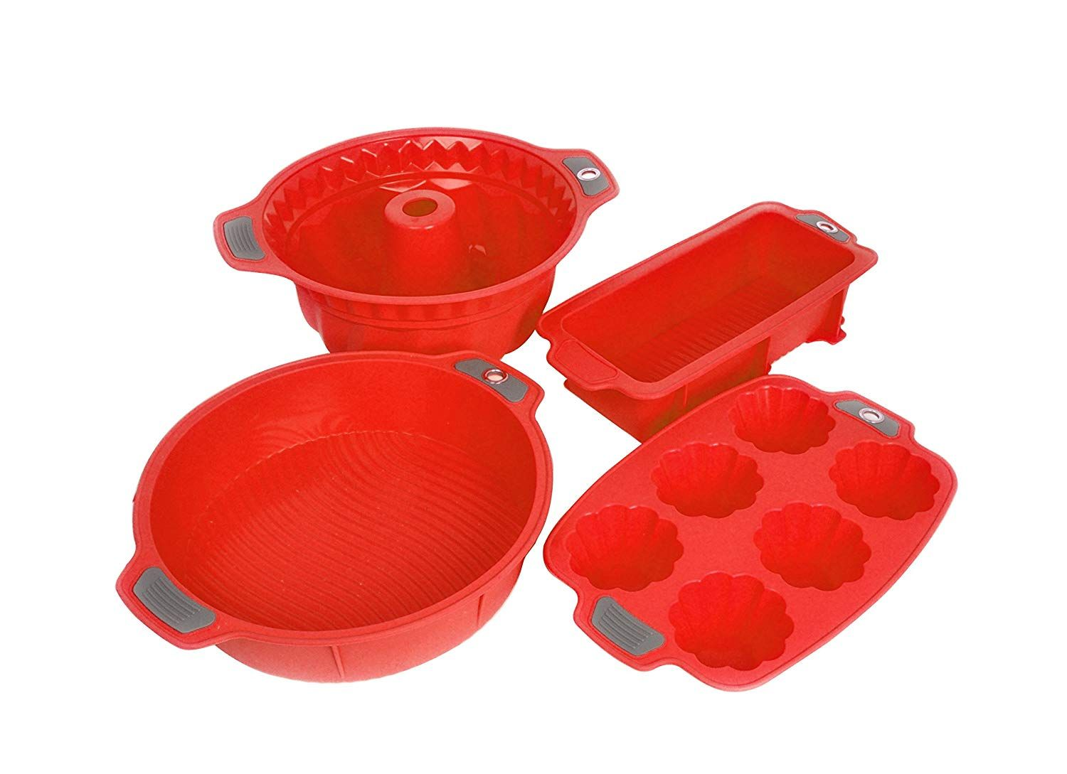 Bakeware Silicone Set Gela Cake Molds For Baking The Ideal