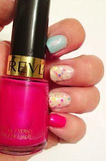 Twinsie Mani Sinful Colors- Cinderella Revlon- Oh My Magenta Jindie Nails- Nude Beach