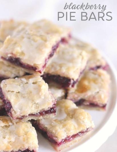 Easy Blackberry Pie Bars -   17 best desserts For Kids ideas