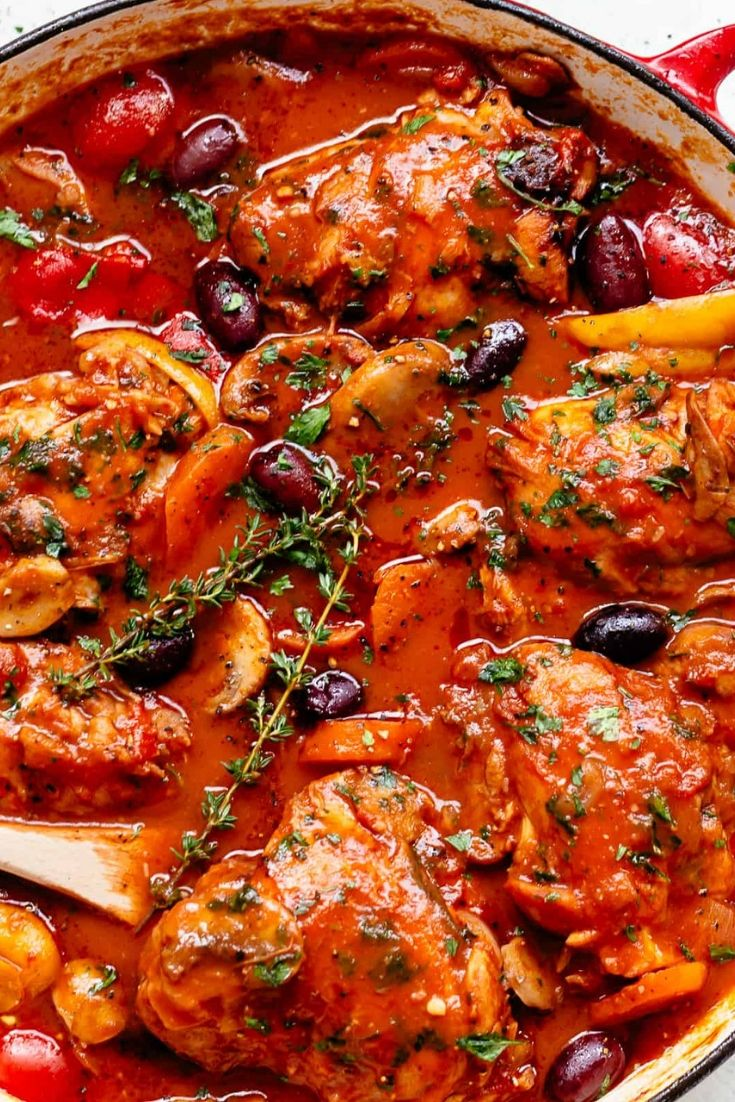 The Best Chicken Cacciatore images