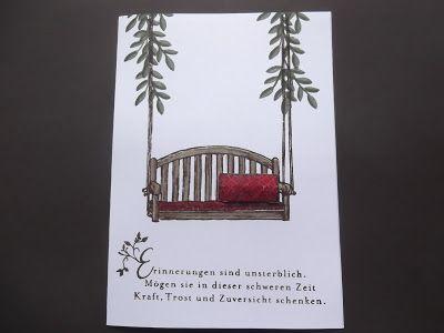 sconebeker stempelscheune stampin up trauerkarte. Black Bedroom Furniture Sets. Home Design Ideas