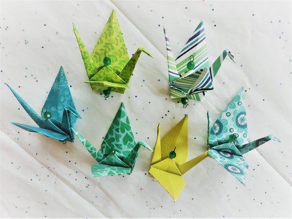 Photo of Origami Kranich hängende Ornamente