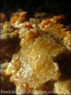 Simple chicken pot pie recipe good food pinterest pot pies simple chicken pot pie recipe forumfinder Gallery
