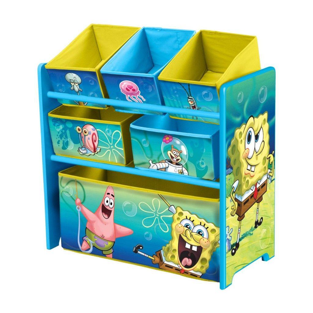 Nickelodeon Sponge Bob MultiBin Toy Organizer.. For his