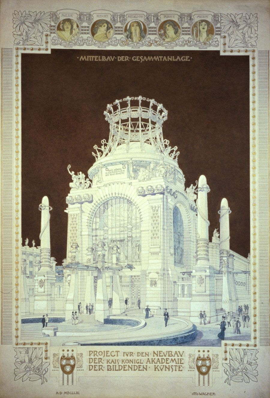 The Drawing Center | New York, NY | Exhibitions | Past | Otto Wagner