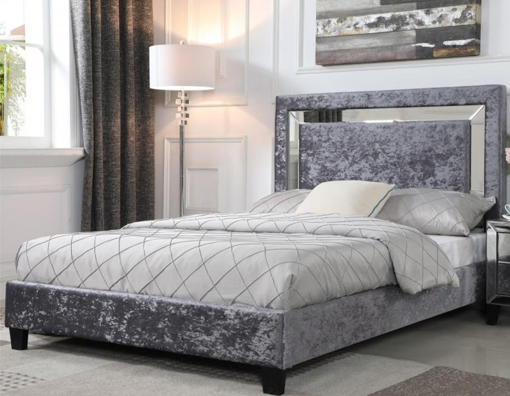 Best Update Your Bedroom With This Luxurious Crushed Velvet Bed 400 x 300