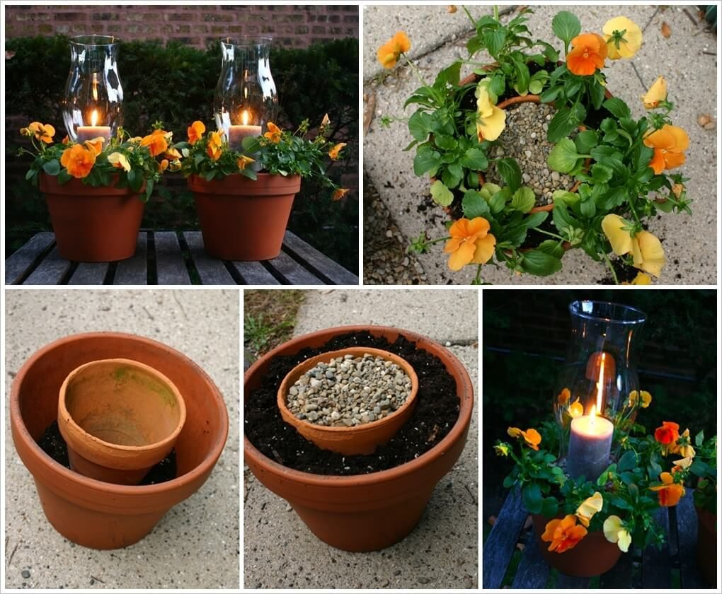 These Potted Candle Planters are So Beautiful 1