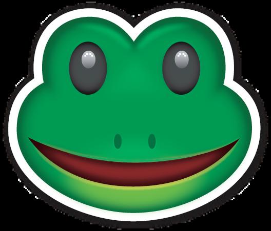 frog face pictures emoji
