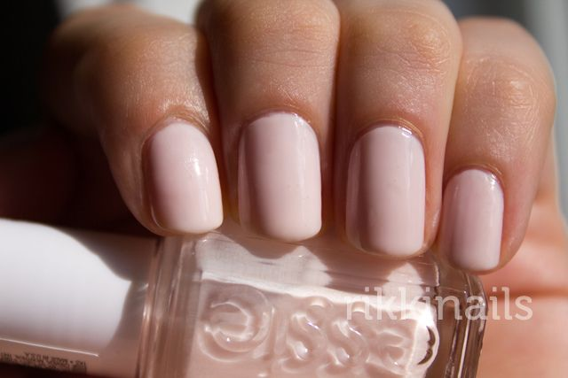 Essie Ballet Slippers Nails Pink Nails Nails Inspiration