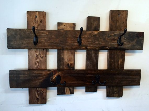 Reclaimed Wood Coat Rack Entryway Storage Wall Coat Hook Rack Towel Rack Coat Han Reclaimed Wood Projects Furniture Rustic Coat Rack Reclaimed Wood Projects