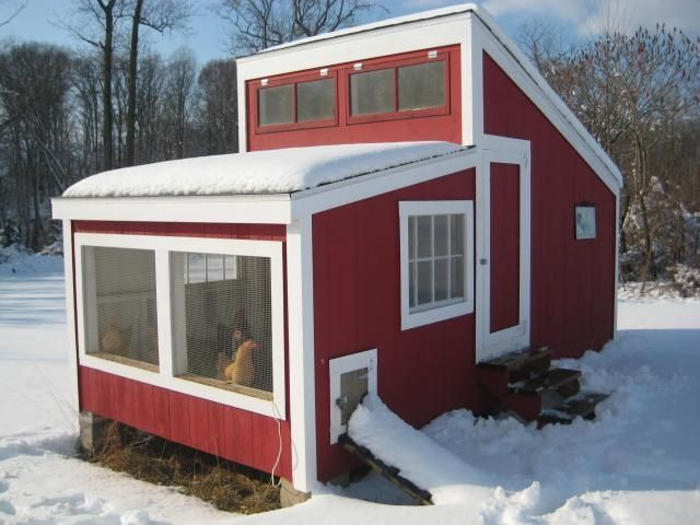Open Air Coop Designed And Used In Cold Climates Designed In 1912 Chickens Coops And
