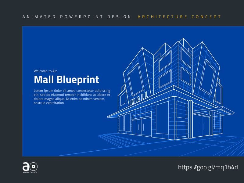 Arc Animated Presentation Template Building Blueprint