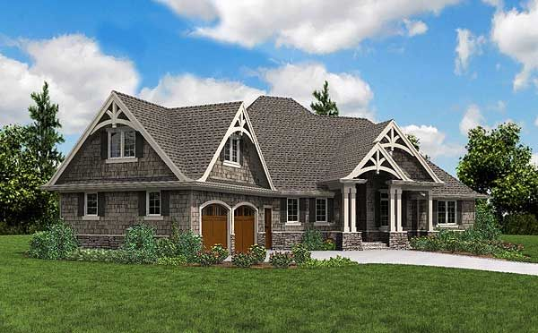 Plan 69533am 3 bedroom craftsman home plan bonus rooms for Craftsman house plans with bonus room