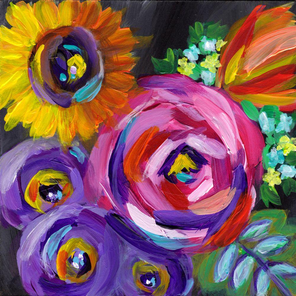 Louisa By Merrill Weber Art Peinture Et Fleurs