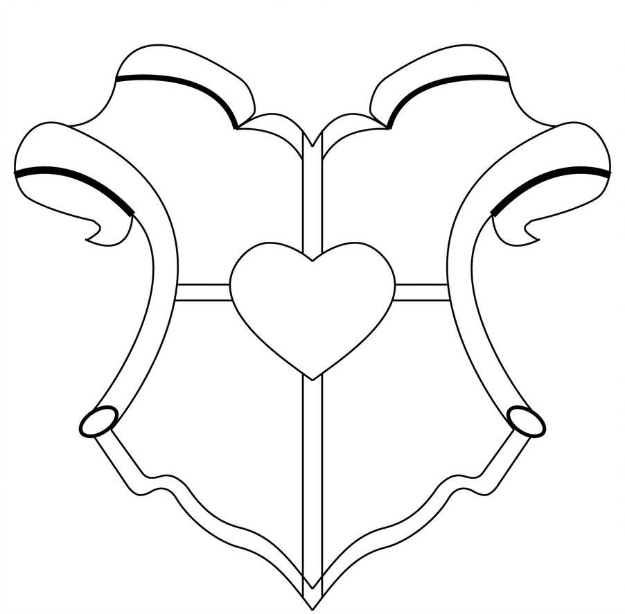 Coat Of Arms Template By Williamcll Family Crest Template Coat Of Arms Family Crest