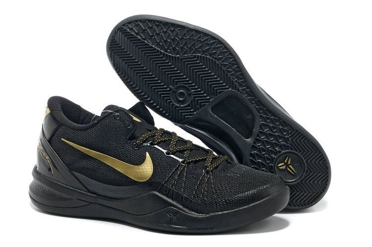 sports shoes de813 851fe Kobe 8 Elite Black Metallic Gold