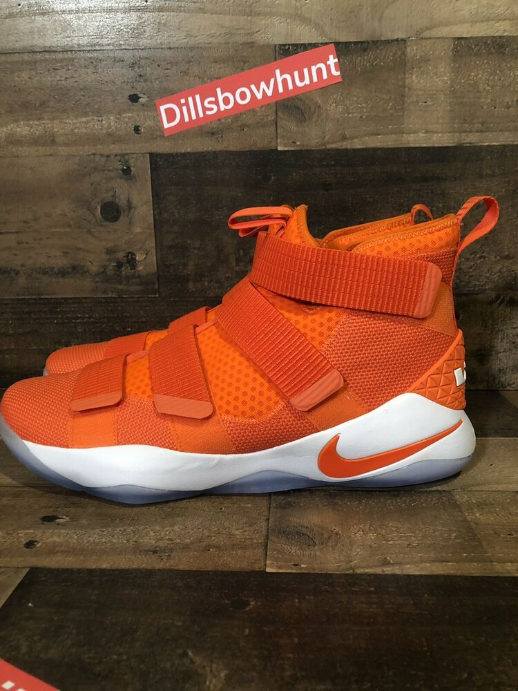 9d6635c8f078 NIKE Men Lebron Soldier XI 11 TB Promo Orange Blaze 943155 800 - Sz 15 New   fashion  clothing  shoes  accessories  mensshoes  athleticshoes (ebay link)