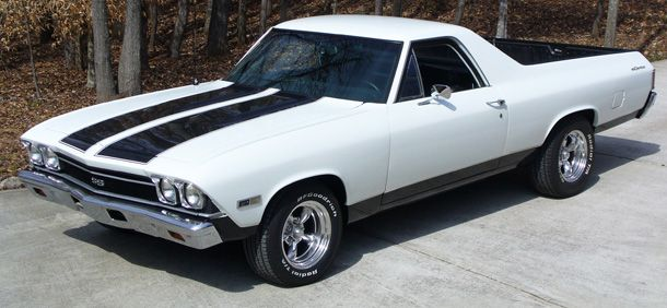 1968 Chevy El Camino Classic Cars Trucks Muscle Cars Classic Cars Muscle