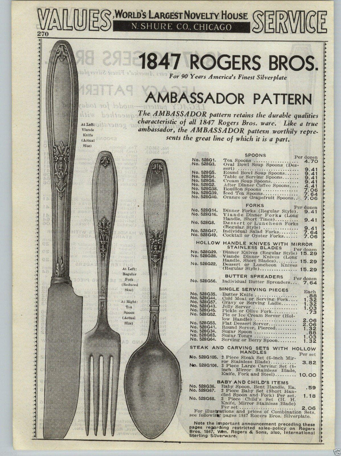 1937 PAPER AD 1847 Rogers Bros Silverware Legacy Ambassador