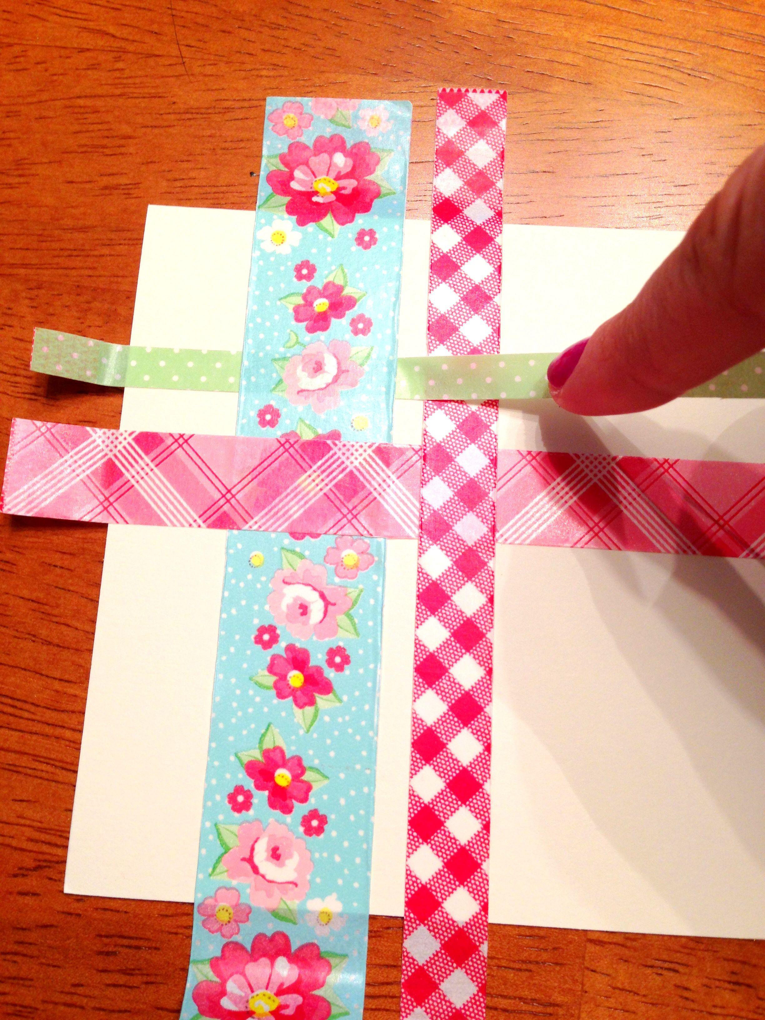 Бумажные ленты открытки
