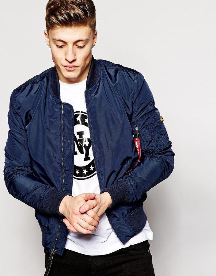 f7f10d84000 Alpha Industries MA1 Bomber Jacket Slim Fit - Click link for product details   )