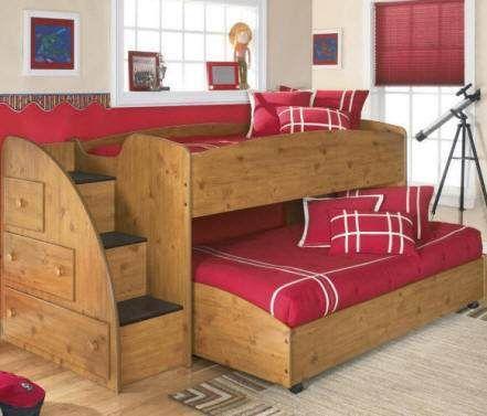 Camas infantiles decoracion artesanales juegos - Camas dormitorios infantiles ...