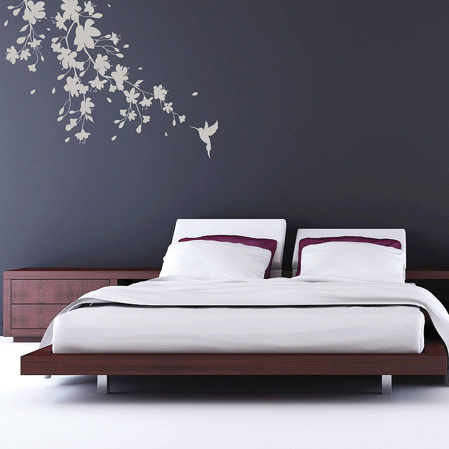 Wall decal new york letter frame cheap stickers world discount - A Unique Sakura Blossom Wall Sticker Available In Four Sizes Complete With Floating Blossom Petals
