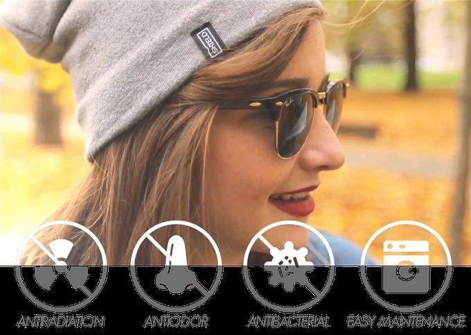 Radiation-Blocking Beanies - 'Shield' Headwear Provides Winter Hats that Block Electromagnetic Waves (GALLERY)