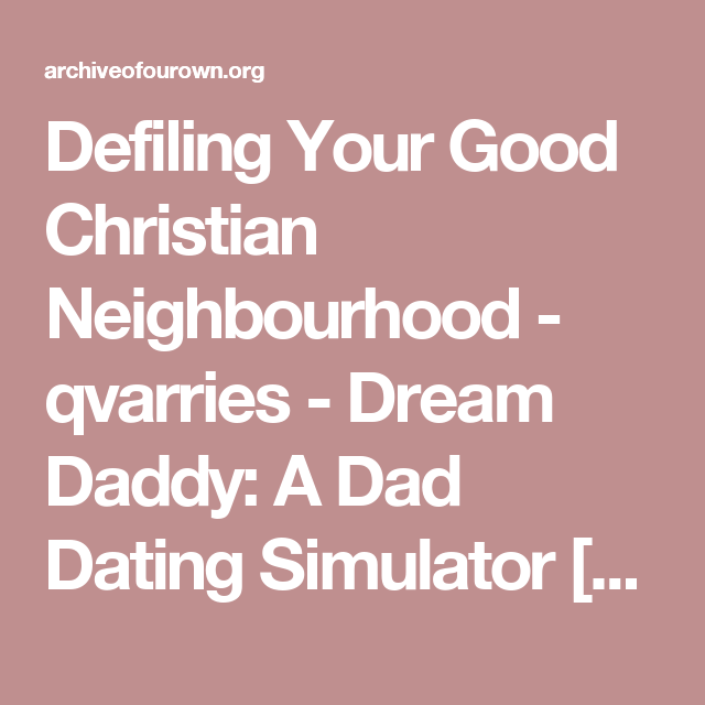 Dating simulator christian