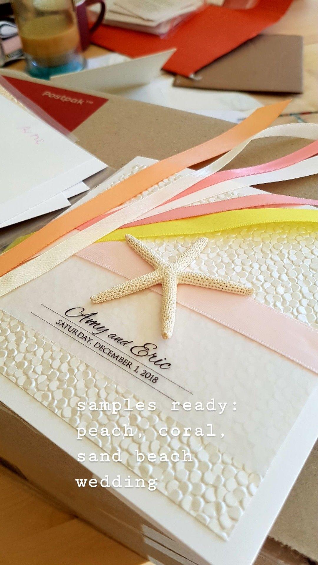 Wedding decorations beach december 2018 Destination wedding invitation set Tropical wedding invite with