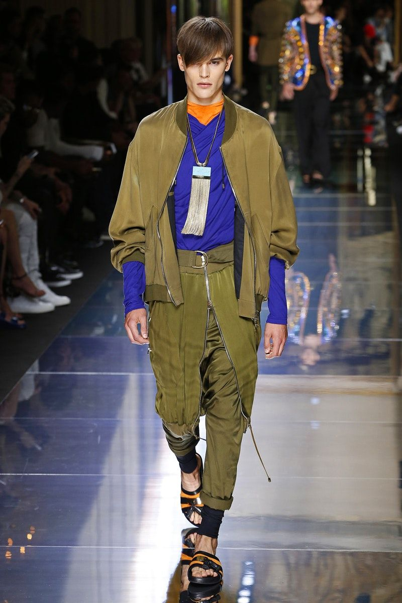 Balmain | Menswear - Spring 2017 | Look 20